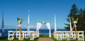 bamboo ceremony arbour CHECKED