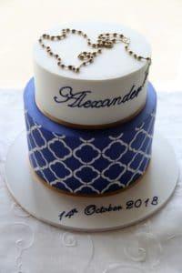 Alex Christening Cake