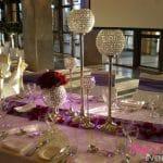 Crystal Goblets Centrepiece