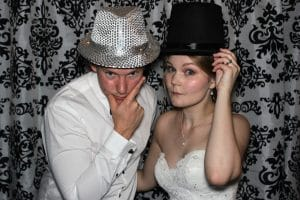 Wedding Photo Booth Shot :)