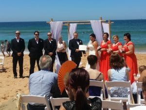 Greg & Sabrina Beach-front Wedding
