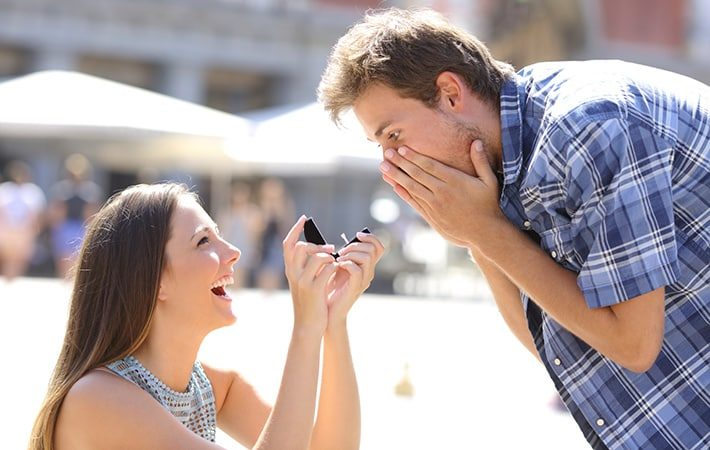 She Proposed - Leap Year Proposal