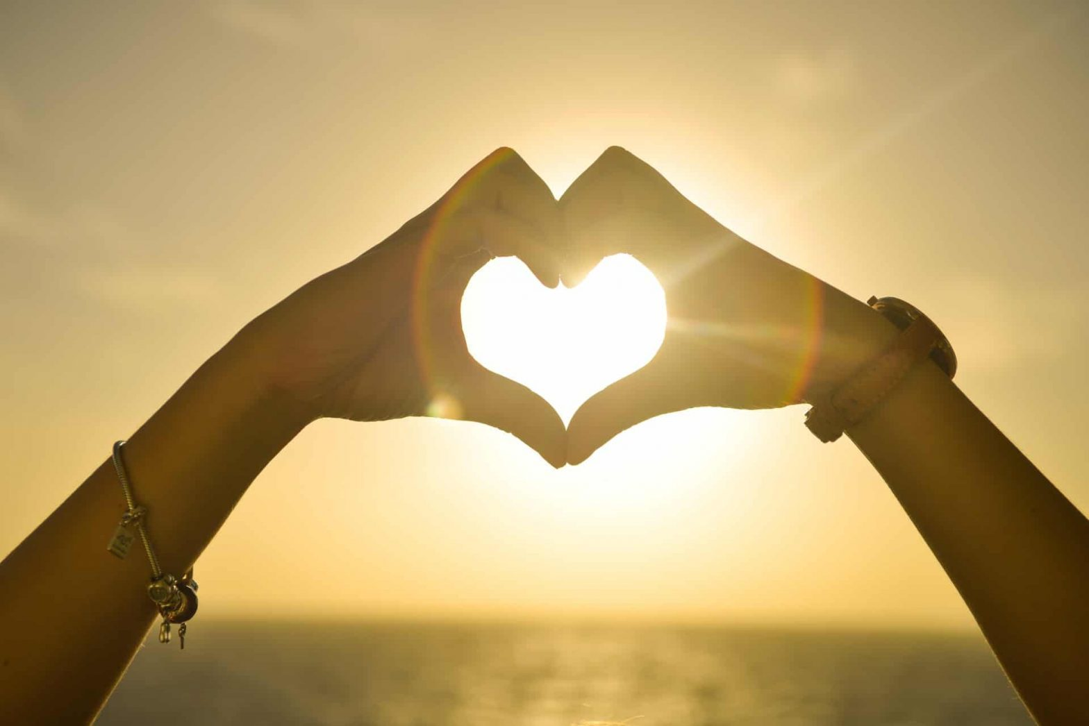 Marriage Equality hands together make heart sun