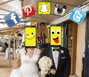 Social Media at Weddings, Smart Phones & Social Media on your Wedding Day