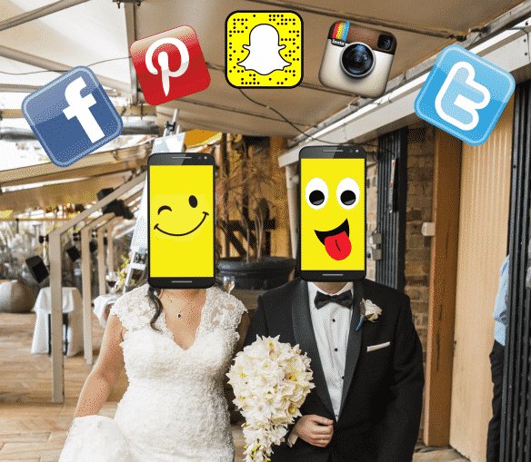 Smart Phones & Social Media on your Wedding Day