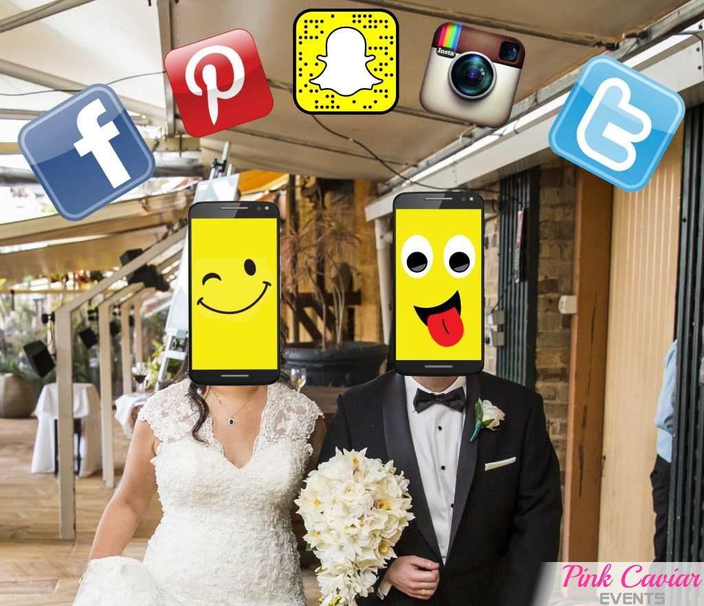 Smartphones & Social Media on your Wedding Day