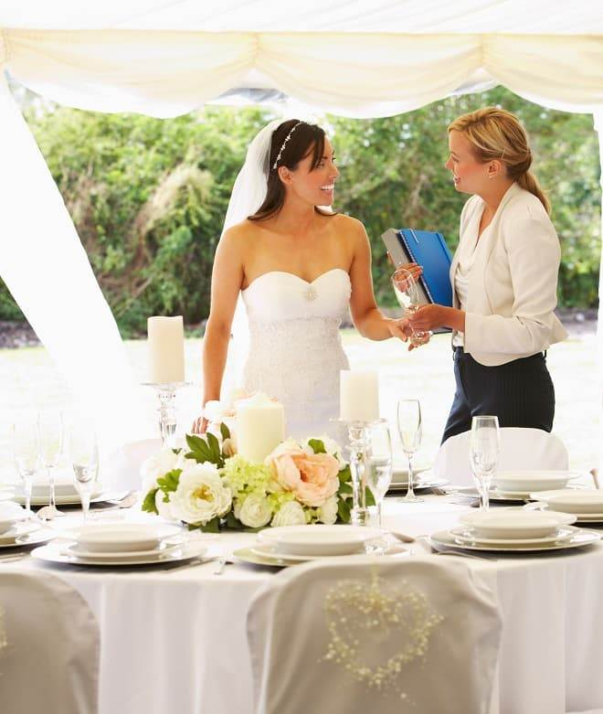Wedding Day Coordinator - Wedding Day Coordinators An Evening Pack Down Service