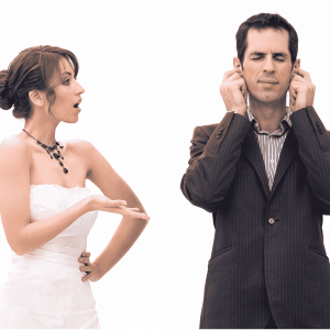 Planning with your man: Wedding planning can be overwhelming for a man