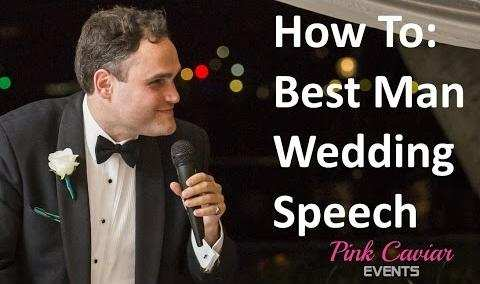 Best Man Wedding Speech How To Guide