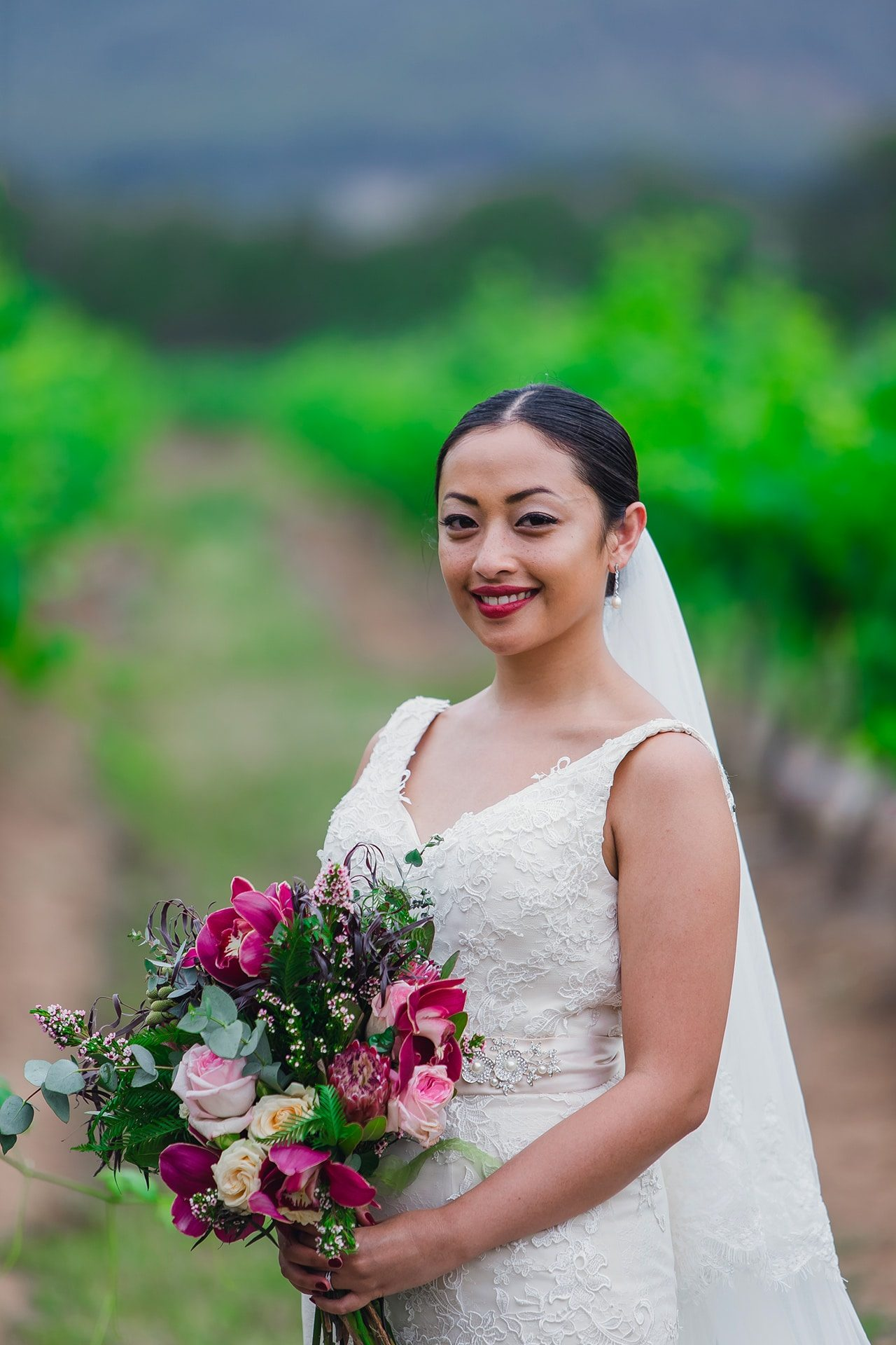 Bouquets Real VS Synthetic - Real Flowers Bouquet Hunter Valley Wine Country