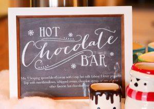 Hot Chocolate Bar - Chocolate Stations