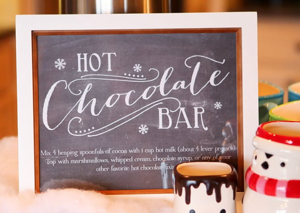 Hot Chocolate Bar - Chocolate Stations