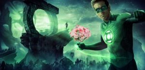 Alternatives to bouquets: Green Lantern Bouquet