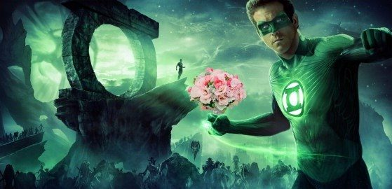 Green Lantern Bouquet