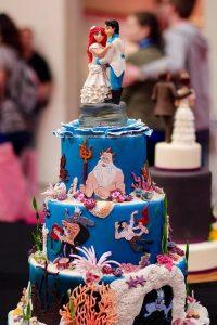 Themed Wedding Cake Topper