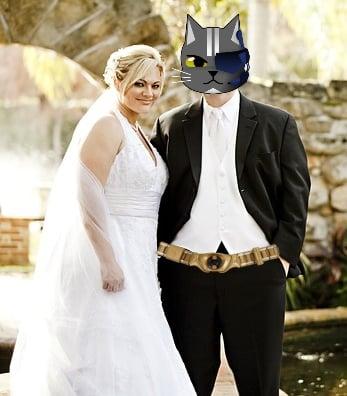 Wearable Wedding Tech Cat