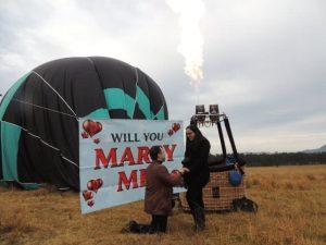 Proposal Planning Hot Air Balloon