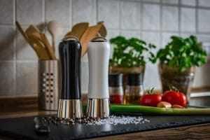 Wedding Anniversary meanings Salt Pepper Shaker in the kitchen