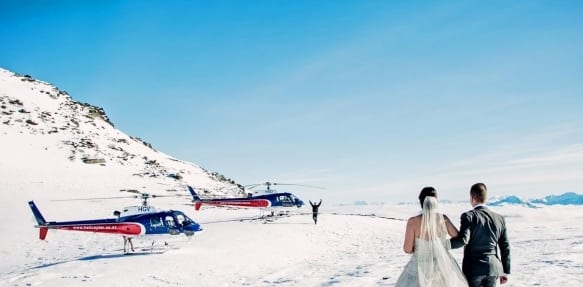 New Zealand Destination Weddings: Franz Josef Glacier