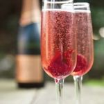 Wedding Cocktails: Blooming Champagne Cocktail