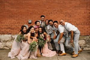 Adults Only Wedding: Bridal Party