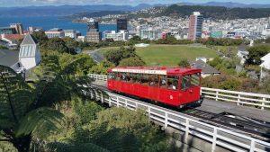 Wellington Destination Wedding Planner: City Skyline and tram