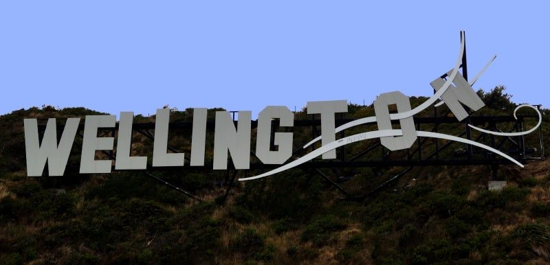 New Zealand Wedding Planner: Wellington - The Windy Wellington Sign