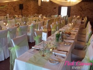 Lime Green Chair Organza Sashes Centrepiece Table Decorations Christening Wedding