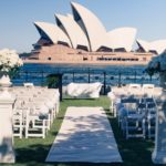 Sydney Destination Wedding Overlooking The Sydney Opera House