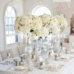 Centrepiece - white romanceWM