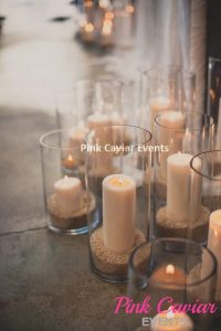 Cylinder Vases with Candles WM TO BE REPLACED