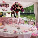 Pink outdoor with martini glassesWM