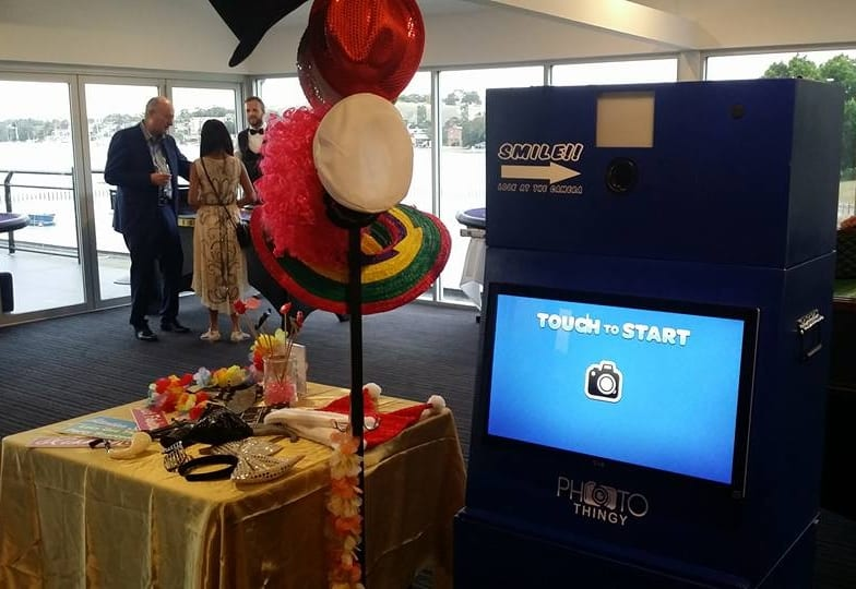 Types Of Photo Booths: Open Air Photo Booth Fun Props