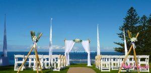 beach wedding ceremony bamboo WM CHECKED