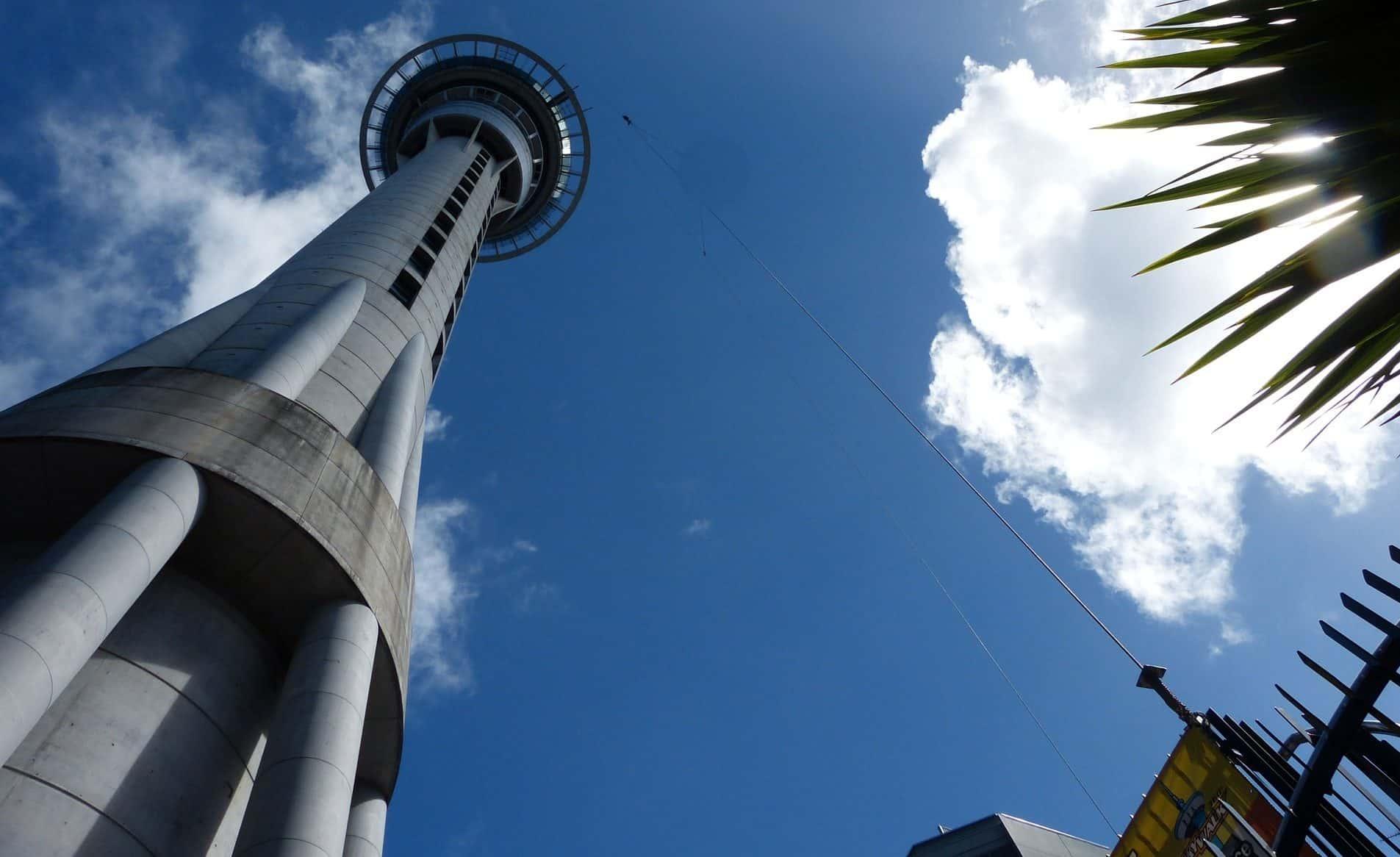 Auckland Destination Wedding: Sky Tower Auckland