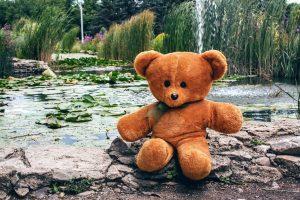 Wedding Anniversary Colours Gift: Teddy Bear