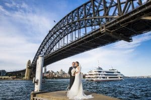 Group Wedding Transport: Stephanie Cassimatis Harbour Bridge Cruise