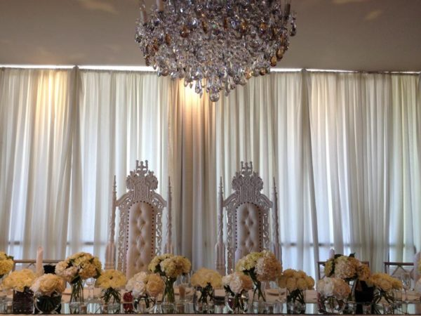 Bridal Thrones - Wedding Thrones - White Thrones - Elegant Regal Throne Event Hire