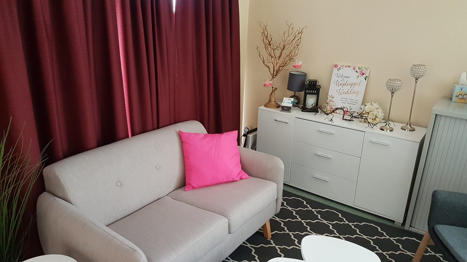 Pink Caviar Events Consultation Studio Couch Office Wedding Planner Office Kellyville Hills District