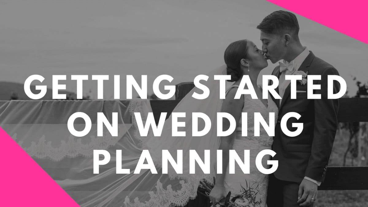 Getting Started With Wedding Planning Vlog Series by Stephanie Cassimatis