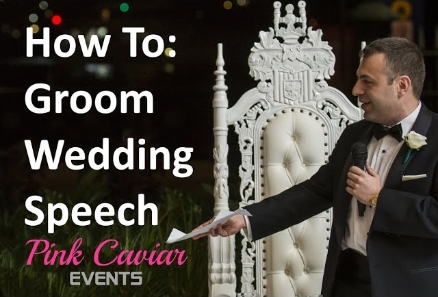How To Groom Wedding Speech - Groom Speech Example Guide