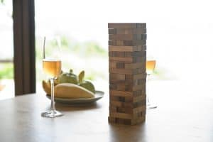 Wedding Guest Book Ideas - Jenga