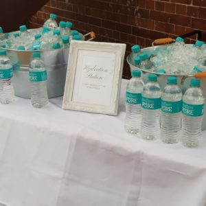 Hydration Station Ceremony Water Station Cool Your Guests