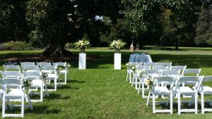 Outdoor Wedding Ceremony Centennial Park Sydney