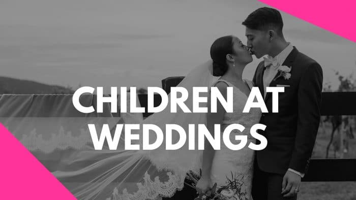 Children at Weddings Vlog Series by Stephanie Cassimatis