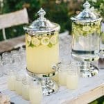 Rustic Lemonade Stand with Mason Jars