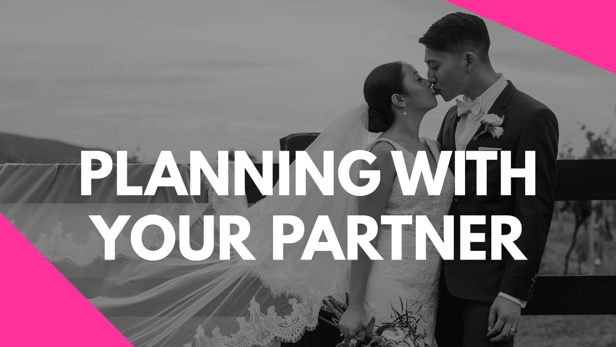 Planning With Your Partner Vlog