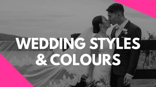 Wedding Style and Colours Vlog Series by Stephanie Cassimatis