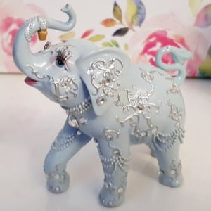 Wedding Anniversary Traditional Gift Ivory Elephant 14th Gift