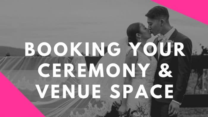 Booking Your Ceremony & Venue Space Vlog by Stephanie Cassimatis